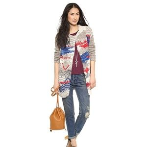Free People Fireworks Heavy Cardigan